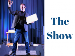 Curtis The Mentalist performs The Mastermind Show in Wichita
