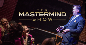 The Mastermind Show with Curtis The Mentalist playing at a comedy club near you.