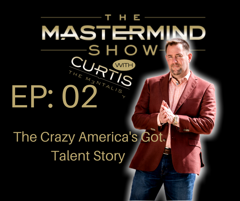 Curtis The Mentalist tells his crazy story of his audition on America's Got Talent