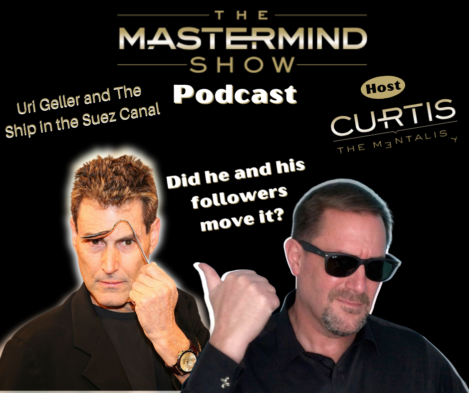 Podcast Episode 7 Uri Geller and the Suez Canal
