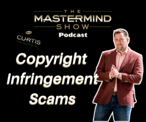 Copyright Infringement Scams Podcast Image