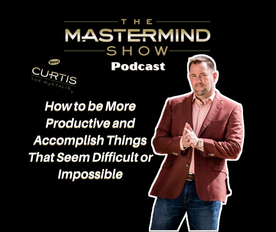How To Be More Productive Podcast Cover Image